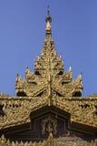 Szczegół Sule pagoda Obrazy Stock
