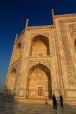szczegół taj mahal Agra, Uttar Pradesh indu Obrazy Stock