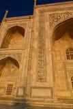 szczegół taj mahal Agra, Uttar Pradesh indu Zdjęcie Stock