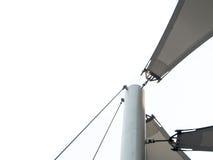 Szczegół tkanina tensile dach Obrazy Royalty Free