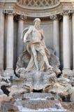 szczegółu di Fontana trevi Fotografia Stock