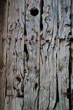 szczegółu drewniany drzwiowy stary obraz stock