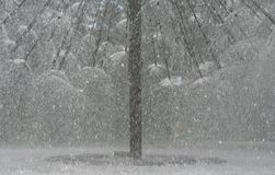 szczegółu fontanny opryskiwanie Zdjęcie Royalty Free