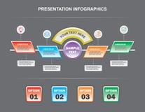 Szczegółu infographics Obraz Royalty Free