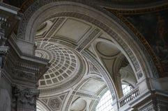 Szczegółu inside panteon Obraz Royalty Free