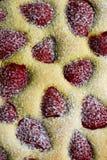 szczegółu kulebiaka truskawka Zdjęcia Royalty Free