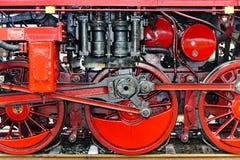 szczegółu lokomotywy kontrpara Zdjęcie Royalty Free