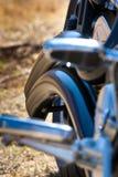 szczegółu motocykl Fotografia Royalty Free