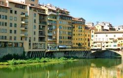 szczegółu ponte vecchio Fotografia Royalty Free