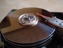 Szczegółu ` s komputerowy harddisk Obrazy Stock