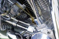 szczegółu silnika motocykl Obraz Stock