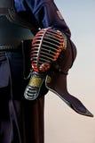 szczegółu wojownika kendo Obrazy Royalty Free