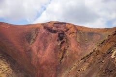 Szczegół volcan Zdjęcia Stock