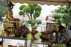 Szczegół Wat Arun, Bangkok Tajlandia Fotografia Stock