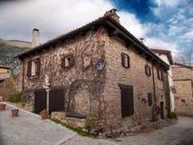 Szczegół wiejski dom agritourism w ` Placu De Los Enamorados ` Obraz Stock