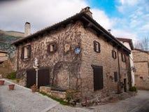 Szczegół wiejski dom agritourism w ` Placu De Los Enamorados ` Fotografia Stock