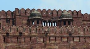 Szczegóły Agra fort w India Zdjęcie Stock