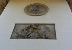 Szczegóły Branderburger brama w Berlin Zdjęcia Stock