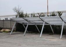 Szczegóły carport Fotografia Stock