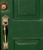 szczegóły drzwi Zdjęcia Stock