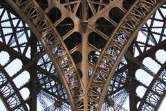 szczegóły Eiffel obraz stock