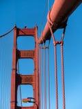 Szczegóły, Golden Gate Bridge Fotografia Royalty Free
