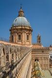Szczegóły katedra Palermo, Sicily Fotografia Royalty Free