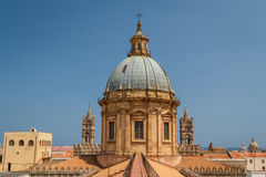 Szczegóły katedra Palermo, Sicily Obrazy Royalty Free