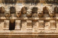 Szczegóły katedra Palermo, Sicily Zdjęcia Royalty Free