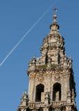 Szczegóły katedra, Santiago De Compostela Fotografia Stock