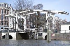 Szczegóły miastowy krajobraz w Amsterdam Obrazy Royalty Free