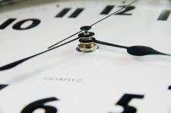 szczegóły nowoczesny zegar Obrazy Royalty Free
