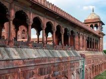 Szczegóły od Jama Masjid, Delhi, India Zdjęcia Stock