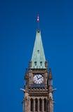 Szczegóły Ottawa parlament Obraz Royalty Free