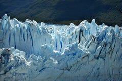 Szczegóły Perito Moreno ` s lodowiec Zdjęcia Stock