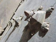 Szczegóły stare bramy Obrazy Stock
