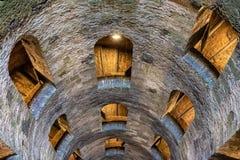 Szczególny wnętrze St Patrick ` s dobrze Obrazy Royalty Free