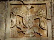 Szczeg?? Bizantyjski Stoneworl, Ma?y metropolia ko?ci??, Ateny, Grecja zdjęcia royalty free