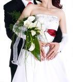 szczegółów poślubiać Obrazy Royalty Free