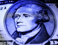 szczegóły nas waluty Obraz Royalty Free