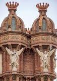 Szczegóły Łuk De Triomf w Barcelona Obrazy Stock