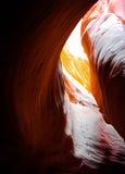 Szczelina jar Południowy Utah, USA Obraz Royalty Free