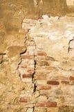 Szczelina w ścianie Obrazy Royalty Free