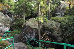 Szczeliniec Wielki - Польша Стоковое Изображение