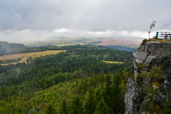 Szczeliniec Wielki mountain view Stock Image
