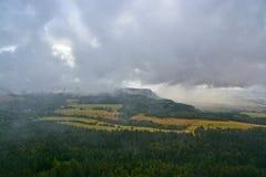 Szczeliniec Wielki mountain view Royalty Free Stock Image