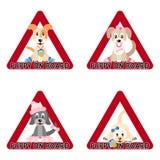 szczeniaka deskowy znak Royalty Ilustracja