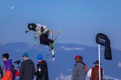 Szczepan Karpiel-Bułecka, Polish skier Royalty Free Stock Images