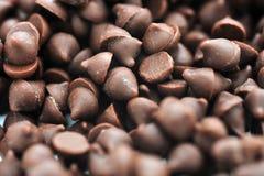 szczerbi się czekoladę Obraz Stock