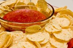 szczerbi się salsa Obrazy Stock
